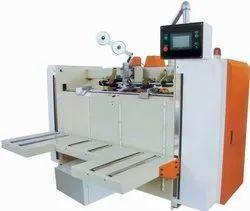 Semi Auto Box Stitching Machine
