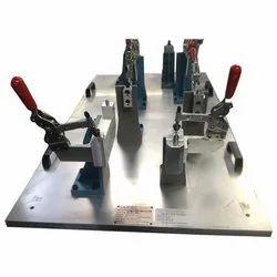 Mild Steel Powder Coated Acute Machining Fixture
