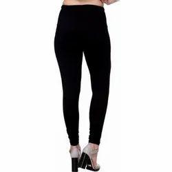 Cotton Plain Ladies Churidar Legging, Size: Free Size