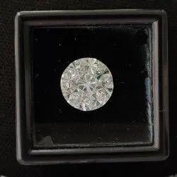 Round Shape Pie Cut CVD / HPHT Lab Grown Diamond