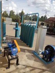 GAS CYLINDER HYDRO TESTING STATION