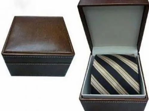 Leather Tie  Box