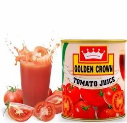 Golden Crown 800 ml Tomato Juice, Packaging Size: 800ml
