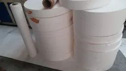 White Plain Paper Cups Bottoms, Packaging Type: Roll Form, 140 To 190 Gsm