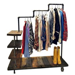 Triple Level Garment Rack
