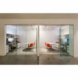 Sliding Office Glass Door