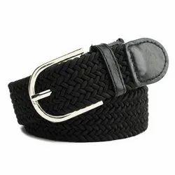 Kaastner Black Nylon Belt, Width: 1.3 Inches