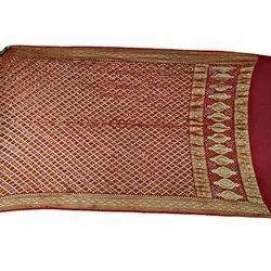 All Over Red Color Janglow Design Banarasi Georgette Bandhani Dupatta