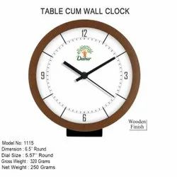 Branded Table Cum Analog Wall Clock