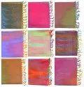 Poly Silk Scarves Rainbow Hijab Stole Women's Wear Lot SC3