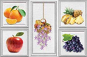 Digital Fruit Prints Ceramic Wall Tiles