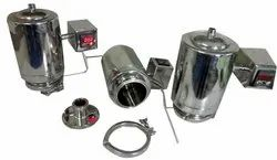 Sanipure Stainless Steel Steam Heating Vent Filter, For Industrial