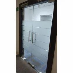 Maxx Toughened Glass Door, Thickness: 15 To 20mm