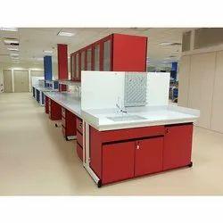 Modular Island Laboratory Bench