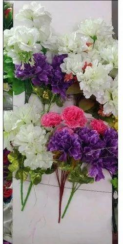 Optional Decorative Plastic Flower Bushes, For Home