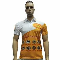 100% Polyester Printed Sublimation T-Shirt