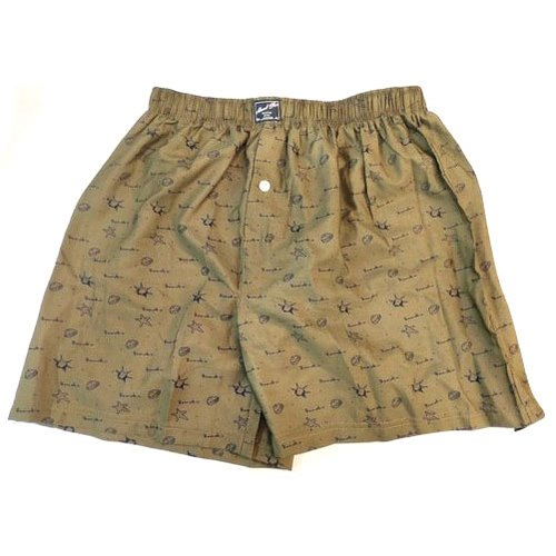 Cotton Thigh Length Mens Printed Shorts