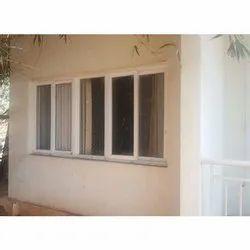 UPVC Exterior Window, Glass Thickness: 5-10 Mm