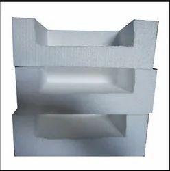 White Rectangular Block Hand Molding, For Packaging