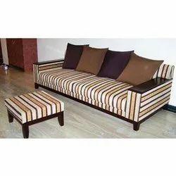 Fabric 3 Seater Trendy Sofa, Warranty: 5 Year
