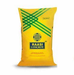 Raasi Concrete 50 kg Cement, Packaging Type: PP Sack Bag