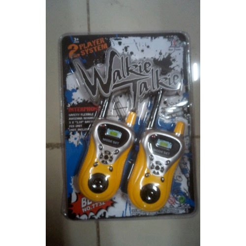 Kids Walkie Talkie Toy, Packaging Type: Packet, With Battery