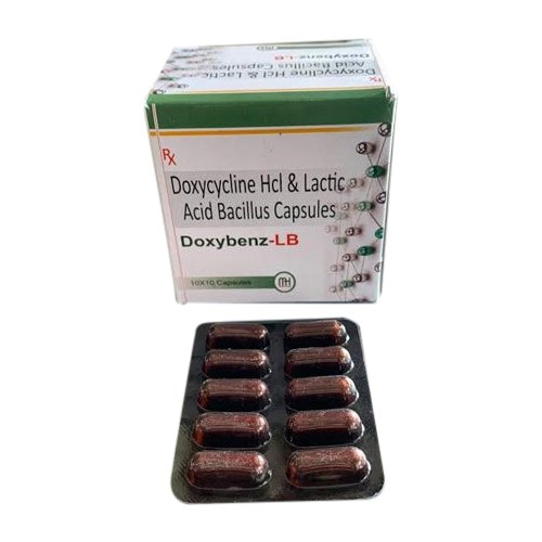 Doxycycline HCL And Lactic Acid Bacillus Capsules