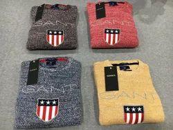 Men Cotton Pullover, Size: M To Xxl