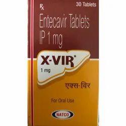 Entecavir Tablets IP 1mg