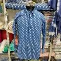 Male Formal Men Handmade Pure Cotton Shirt