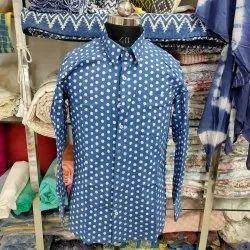 Male Formal Men Handmade Pure Cotton Shirt