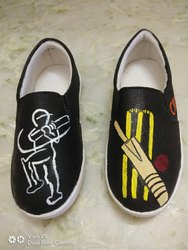 Black Men Fashion Canvas Shoes