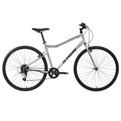 BTwin White Riverside 120 Hybrid Cycle