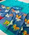 Womens Printed Saree