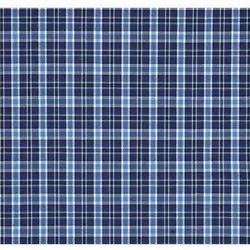 Checked Blue School Uniform Shirting Fabric, For Garments, 150-200 Gsm