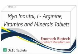 Myo-Inositol D-Chiro-Inositol and Vitamin And Minerals