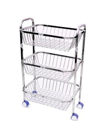 Steel Trolley Basket