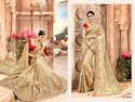 Fancy Embroidery Wedding Bridal Wear Saree Catalog New Jubilee