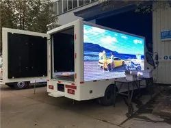 LED Display Screen Video Wall Mobile Van On Rent