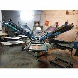 Fabric Printing Machine, Automation Grade: Semi-Automatic