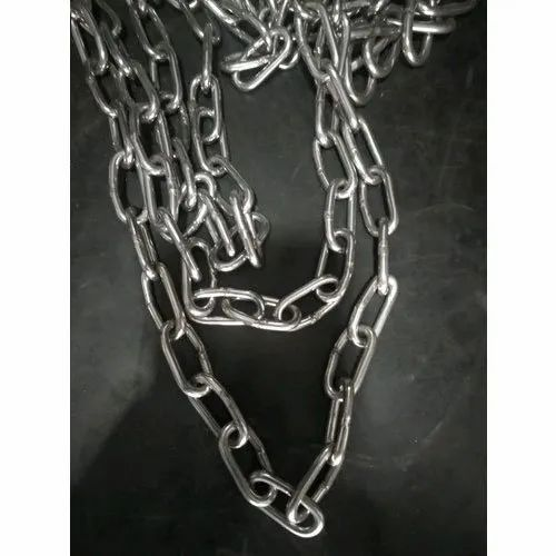 Alloy Steel Link Chain, Material Grade: SS304