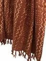 Hand Block Printed Handloom Thick Cotton Cozy Throws Blanket Decorative Bed Runner