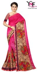 Super Look Vol 4 Weightless Border Printed Saree