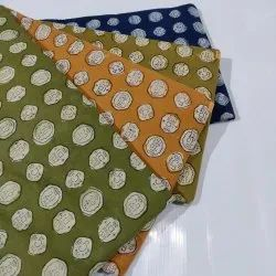 New Cotton Dress Material Coin Print