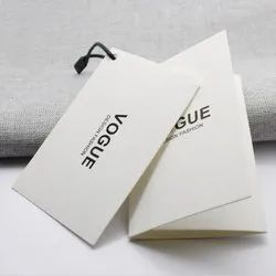 Paper Garment Tags, For Garments, Packaging Type: Packet