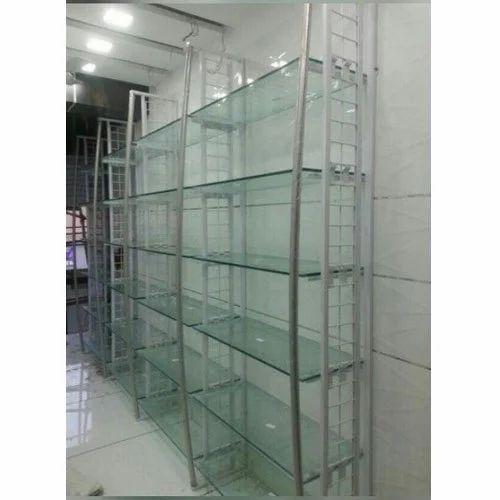 Outstanding Glass Display Rack Home Interior And Landscaping Oversignezvosmurscom