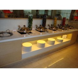 Commercial Induction Buffet Warmer