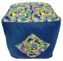 Handmade Indian Stool Pouf