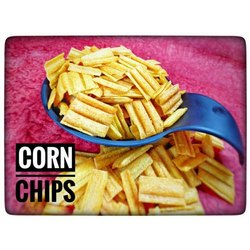 Salted Corn Chips, Packaging Type: Packet