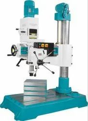 Geared Single Column Auto Feed Radial Drill
